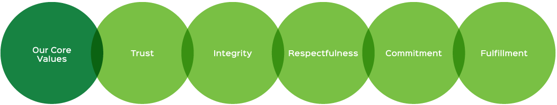 Our Core Values (Diagram)